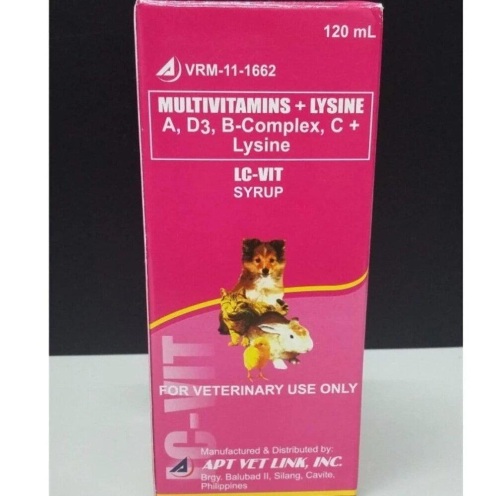 Multivitamins+Lysine ( LC-VIT SYRUP )
