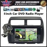 "Myvi Icon 8"" OEM Plug And Play Bluetooth USB Touch CD DVD Double Din Player"
