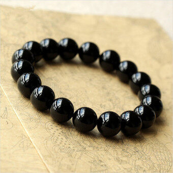 Harga Natural lucky Black Onyx bracelet