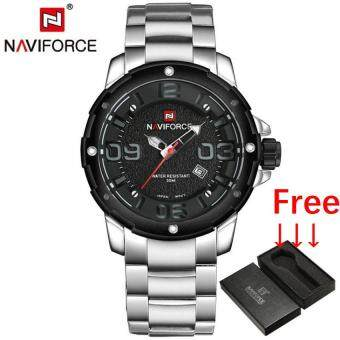 NAVIFORCE Luxury Brand Men Army Military Sports Watch Jam Tangan es Men's Quartz Clock Male Full