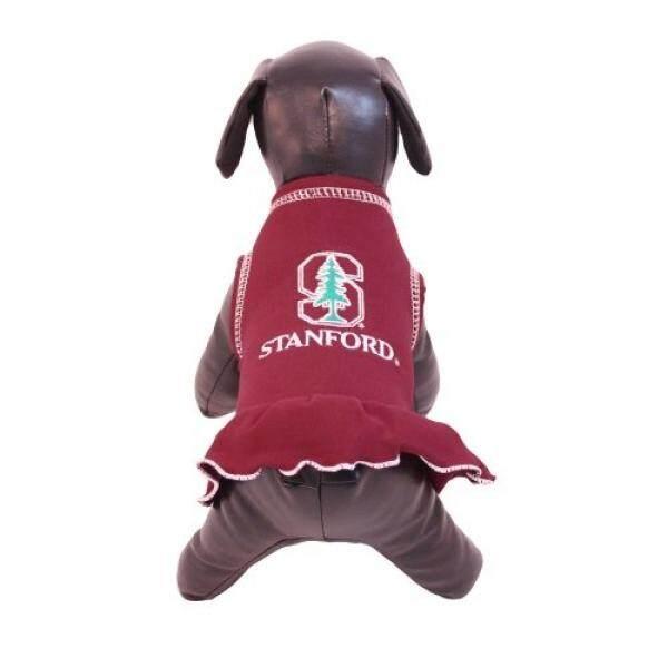 NCAA Stanford Cardinal Cheerleader Dog Dress (Team Color, Small) - intl