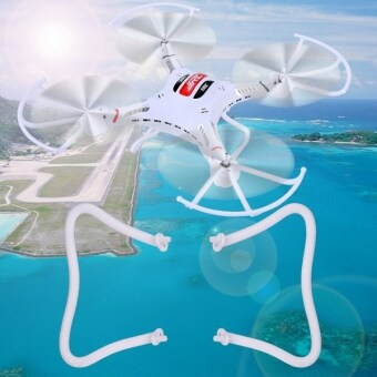 New 2pc Spare Skid Landing Gear Tripod For JJRC H8C RC Quadcopter Drone White