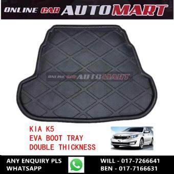 New Car Rear Cargo Mat Auto Trunk Mat Boot Tray Liner ProtectorFloor Dustproof Carpet Pad For Kia K5