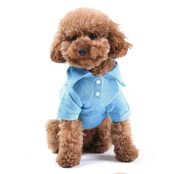 New Keebgyy Pet Puppy Summer Hoodies Shirt Small Dog Cat PetClothes Costume Apparel T-Shirt puppy vest clothing