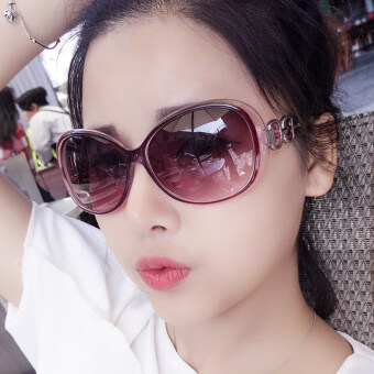 Harga New style Round Cool sun mirror sunglasses