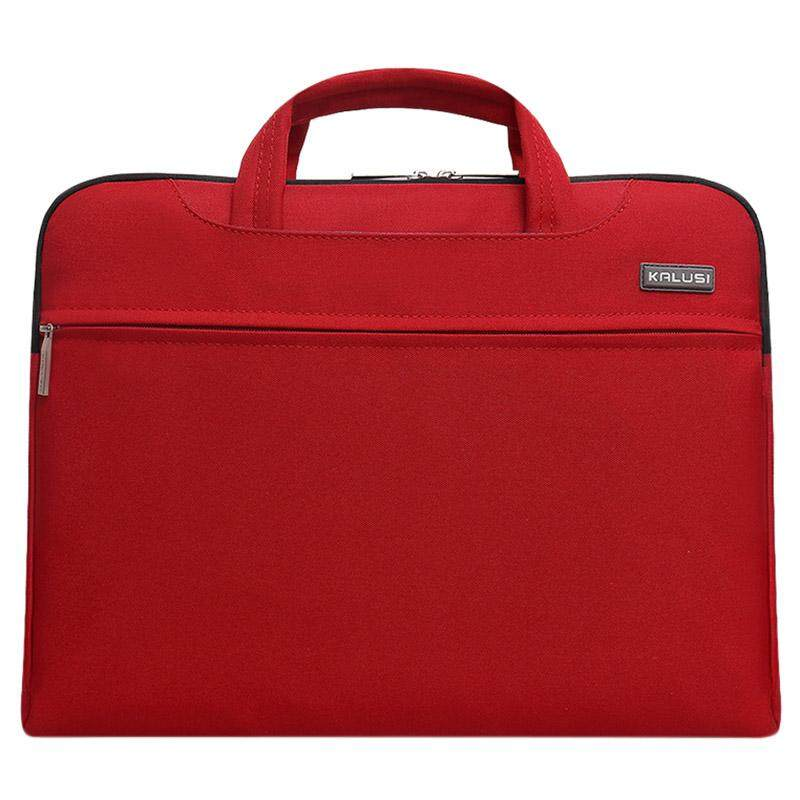 New waterproof arrival laptop bag case computer bag notebook cover bag 13 inch for Apple Lenovo Dell Computer bag(Red) - intl