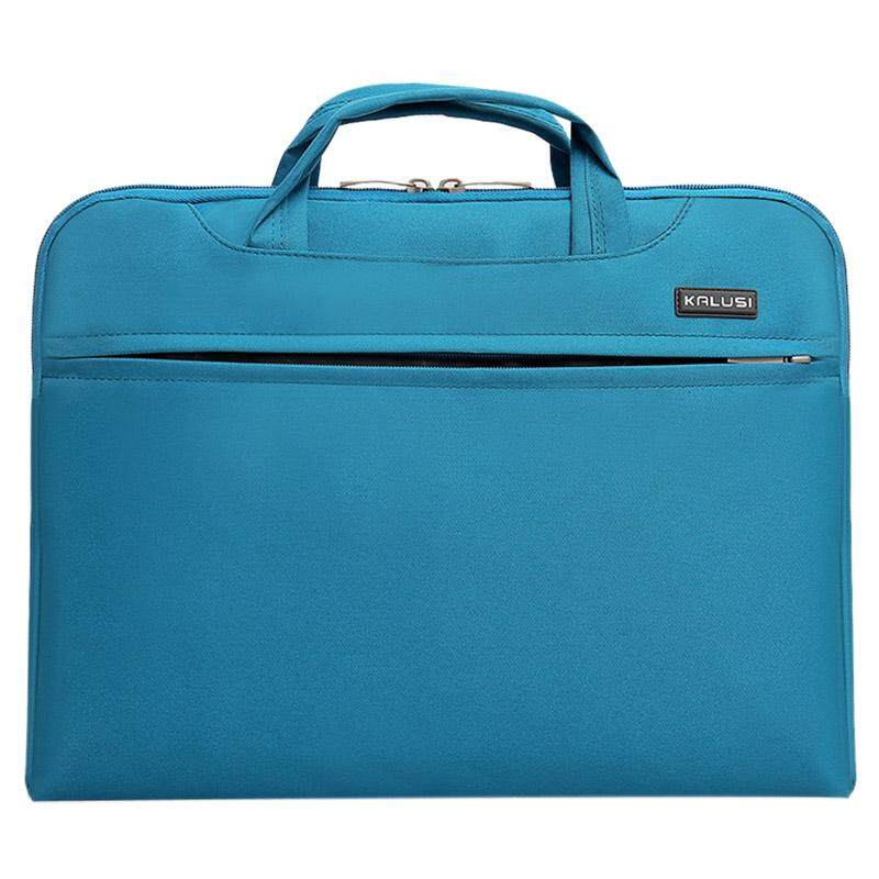 New waterproof arrival laptop bag case computer bag notebook cover bag 14 inch for Apple Lenovo Dell Computer bag(Sky Blue) - intl