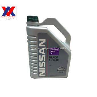 Nissan 15W40 Engine Oil 4L SL/CF