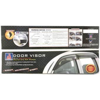 Nissan X-Trail Xtrail First Generation 2000-2007 AG Door Visor AirPress Wind Deflector (Big 12cm Width) - 2