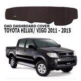 Non Slip Dashboard Cover with diamond for Toyota Hilux Vigo 2015