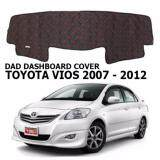 Non Slip Dashboard Cover with diamond for Toyota Vios 2003-2006