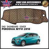 Broz Non Slip Dashboard Cover without diamond for Perodua Myvi 2018 Advance SE With Space For Smart Tag