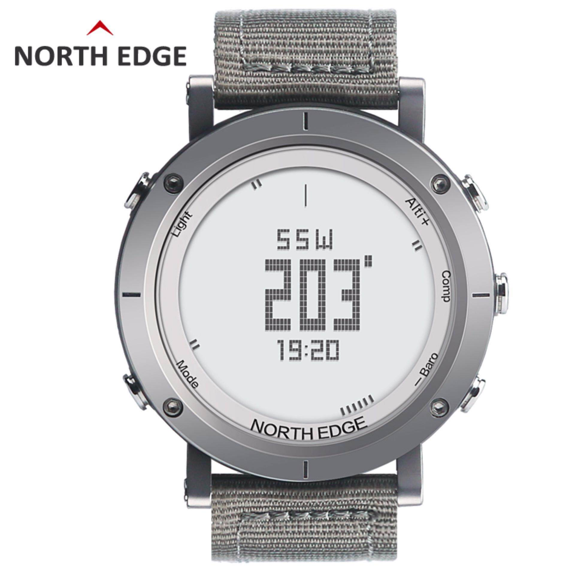 digital watches north fishing watch index outdoor clock men edge