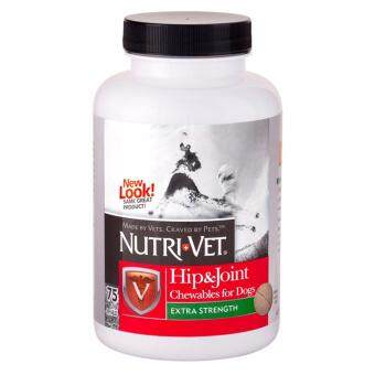 Harga Nutrivet Hip & Joint Extra Strength Chewables 75ct