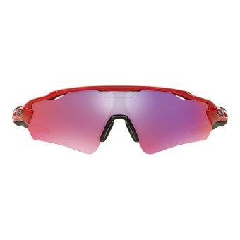 a0f4cbdc56 Oakley Radar EV Path Asian Fit OO9275-13 Redline Sunglasses 135