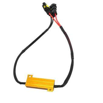 fitur uinn h11 50w 6 ohm led drl fog light load resistor wiring dc12v 50w h8 h11 led fog light wiring harness kit led foglamp line set