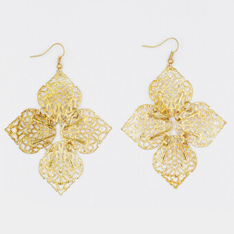 Harga ONLY 24k Gold Leaf Earrings