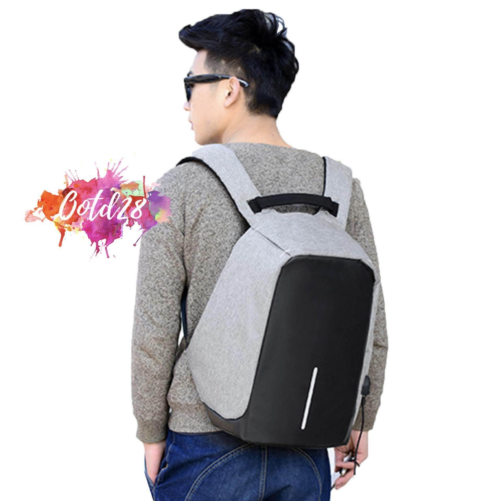 OOTD28 BG1701 Anti Theft Backpack OEM Design Bag Bobby XD Inspired