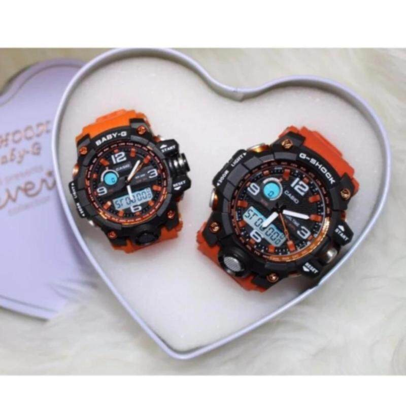 Orange Couple Watch (G Shock) Malaysia