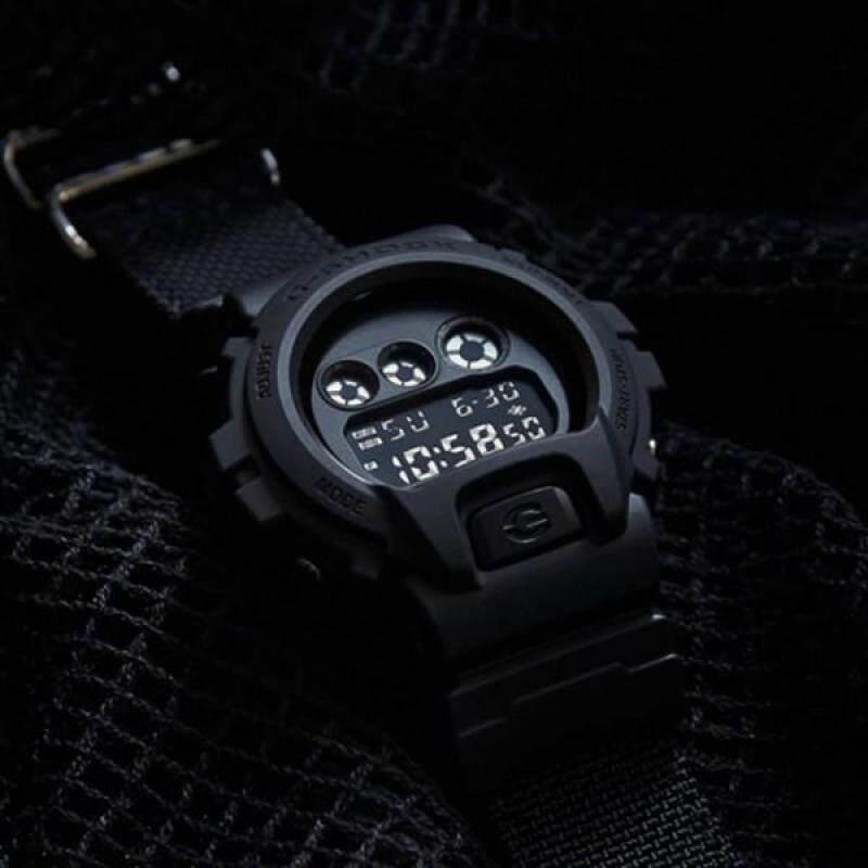 [ORIGINAL] Casio G-shock DW-6900BB-1 watch Black Malaysia