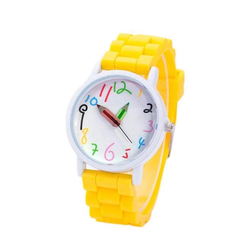 Oscar Store Children Watch Pencil Pointer Funny Digital Silicone Watches Kids Reloj Assorted Malaysia