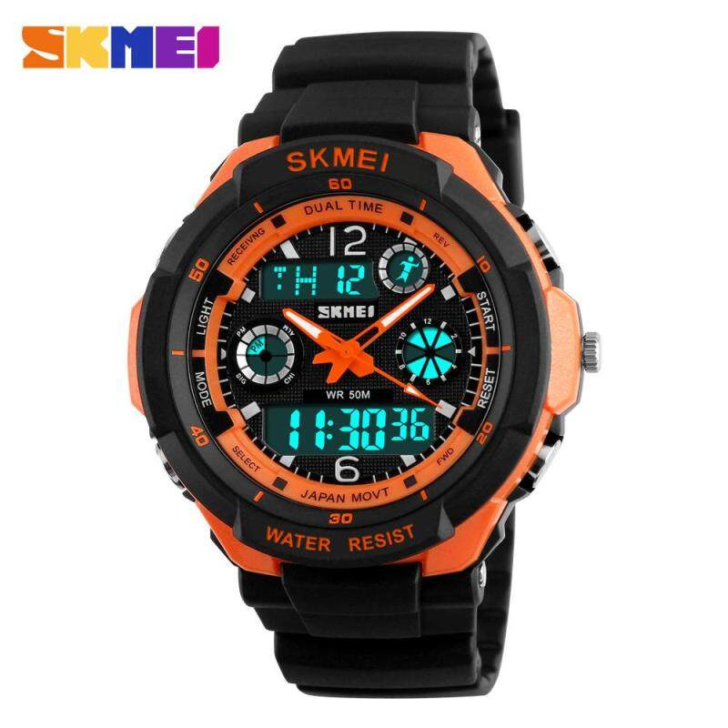 Outdoor Sports Watch Waterproof Shockproof Men Mountaineering Electronic Watches Watch Jam Tangan Malaysia