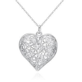 P218 Hot sale nickel lead free silver plated pendant for gift