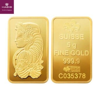 Harga PAMP Suisse Gold Bar - Lady Fortuna 5g