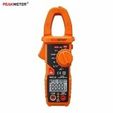 ซื้อ Peakmeter Pm2118 Portable Smart Ac Dc Clamp Meter Multimeter Ac Current Voltage Resistance Continuity Measurement Tester With Ncv ถูก ใน จีน