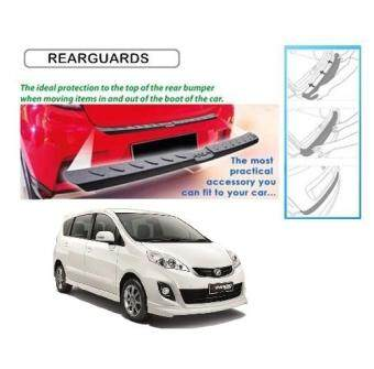 Harga Perodua Alza 2009-2013 Rear Bumper Step Reflector Guard
