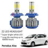 Perodua Alza (Head Lamp) Z2 LED Light Car Headlight Auto Head light Lamp 6000k White Light