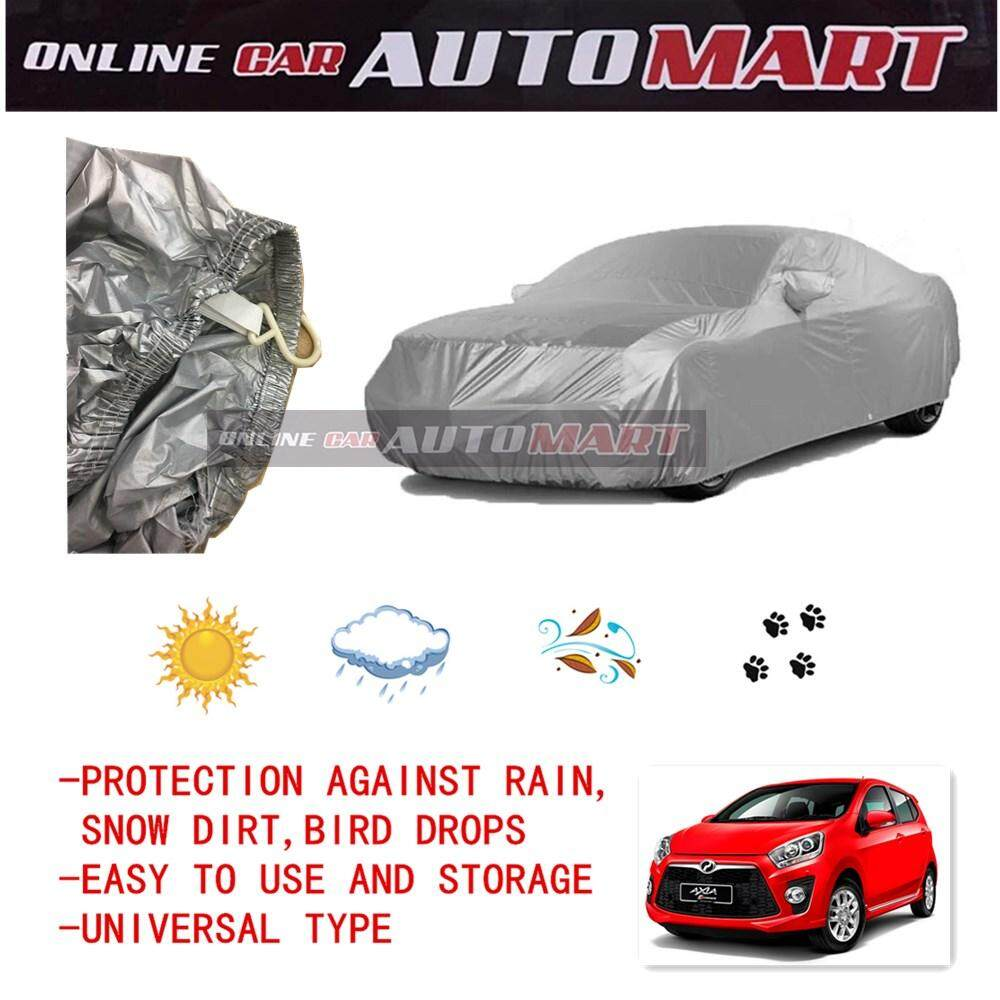 Perodua Axia - Yama High Quality Durable Car Covers Sunproof Dust-proof Water Resistant Protective Anti UV Scratch Sedan Cover