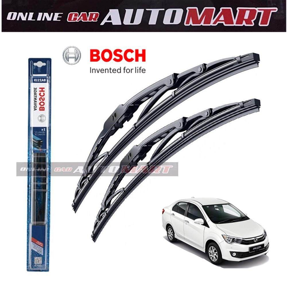 Perodua Bezza - Bosch Advantage Wiper Blade (Set) - Compatible only with U-Hook Type - 21 inch & 14 inch