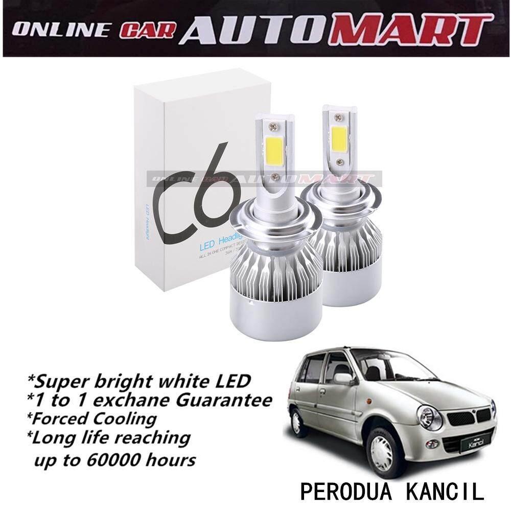 Perodua Kancil-C6 LED Light Car Headlight Auto Head light Lamp 6500k White Light