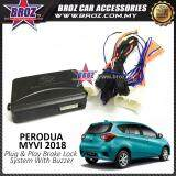 Broz Perodua Myvi 2018 Plug & Play Brake Lock Module Auto Door Lock With Buzzer