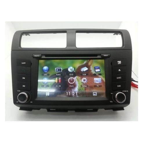 "PERODUA MYVI Lagi Best 2011 - 2014 DLAA 7 Double Din DVD MP3 CD USB SD BT Player Free Rear Camera & TV Antenna"""