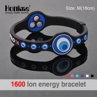 Harga Personalized Power Energy Hologram Bracelets Wristbands KeepBalance Ion Magnetic Therapy Fashion Silicone Bands PROX 2