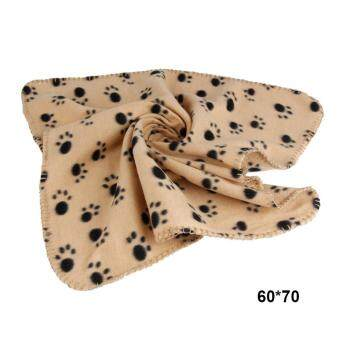 Pet Dogs Blanket Soft Towel Mat For Bed Quilt Bath Towel Cushion(Size:60*70cm)