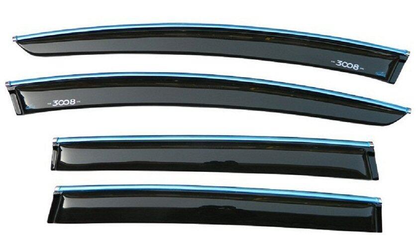 Peugeot 3008 Car Door Visor Style like Mugen