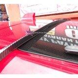 Broz Peugeot 451 Samurai Carbon Rear Top Windscreen OEM Glass Spoiler (4.5cm)