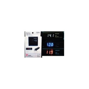 PIVOT V Capa Volt Meter Voltage Stabilizer Red Display Japan FuelSaver KING Pivot Mega raizin - 5