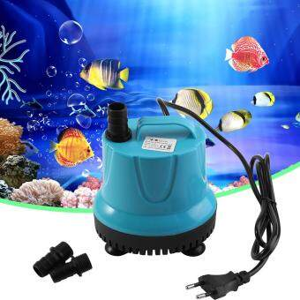Harga Plastic 2000L/H Fish Tank Aquarium Water Submersible Pump Blue WithEU Plug SM-25L