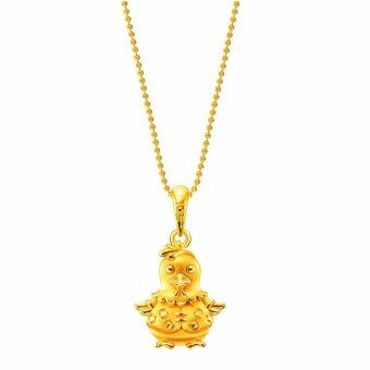 Harga POH KONG Auspicious 916/22k Yellow Gold Jewellery Gift For Kids - Gold Adorable Younglings Pendant (Male), Loket Emas