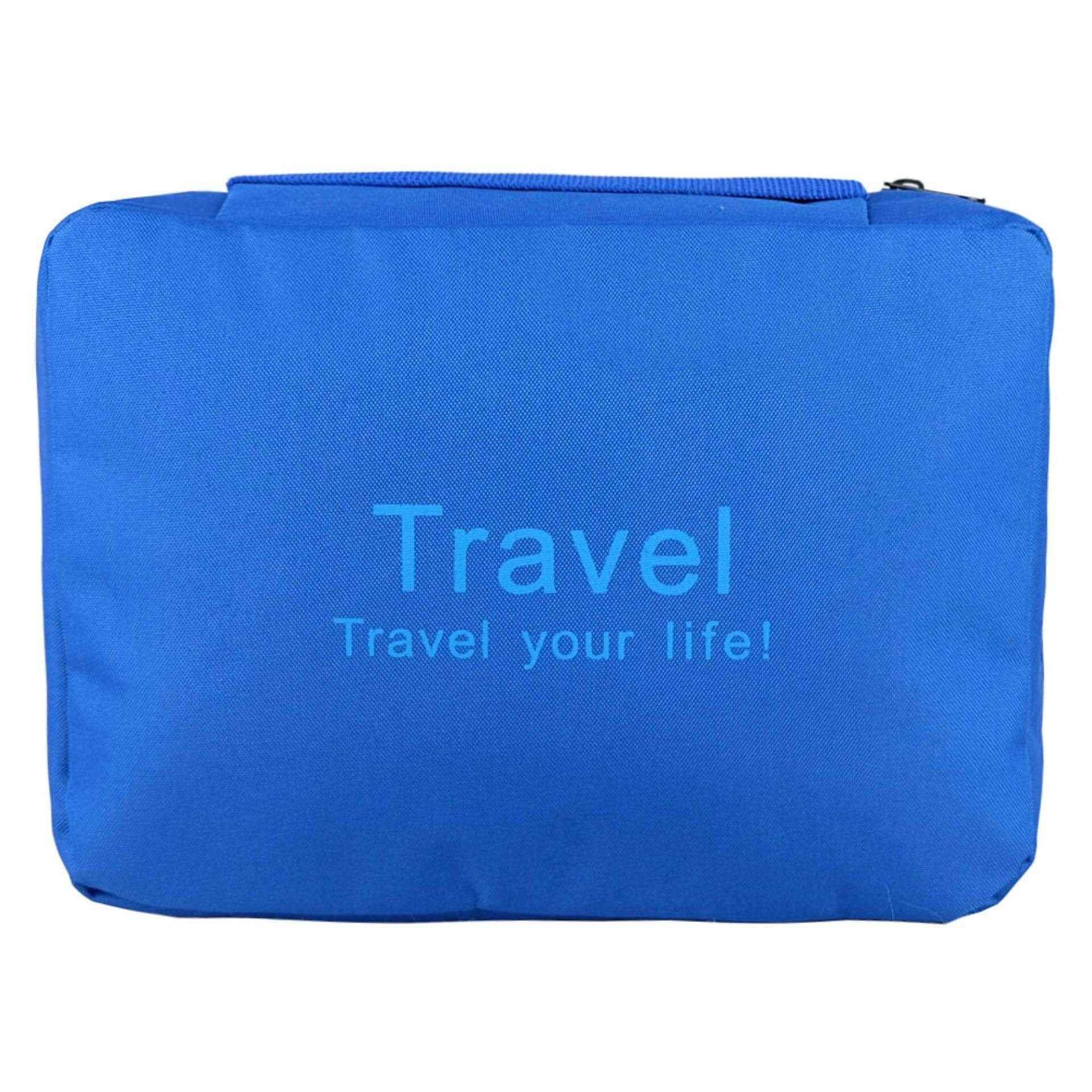 Poly-Pac Waterproof Travel Toiletries Bag TBA3- Blue
