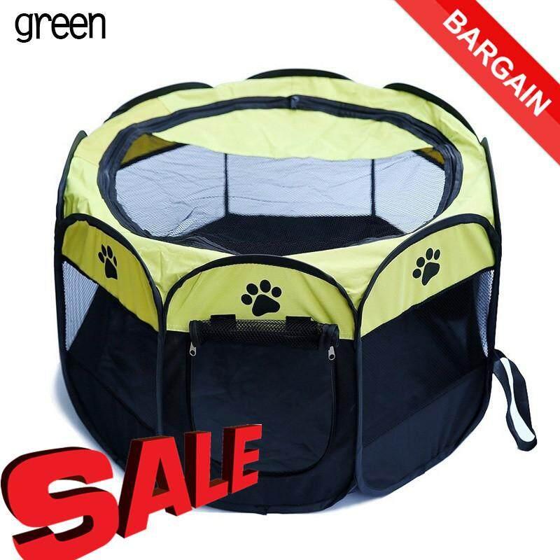 Portabel Lipat Peliharaan Tenda Rumah Anjing .