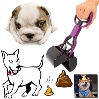 Harga Portable Long Handle Pet Dog and Cat Poop Scooper Pet Dog Waste BagHolder Dogs Toilets Poop Easy Pick Up Cleaning Tools