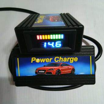 Power Charge Fuel Saver With Battery Indicator (BLACK)