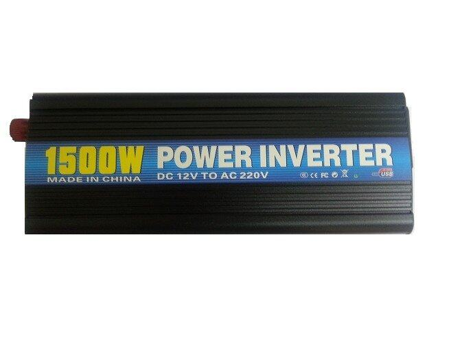 Power Inverter 1500 watt Car Power Inverter DC12V to AC220V