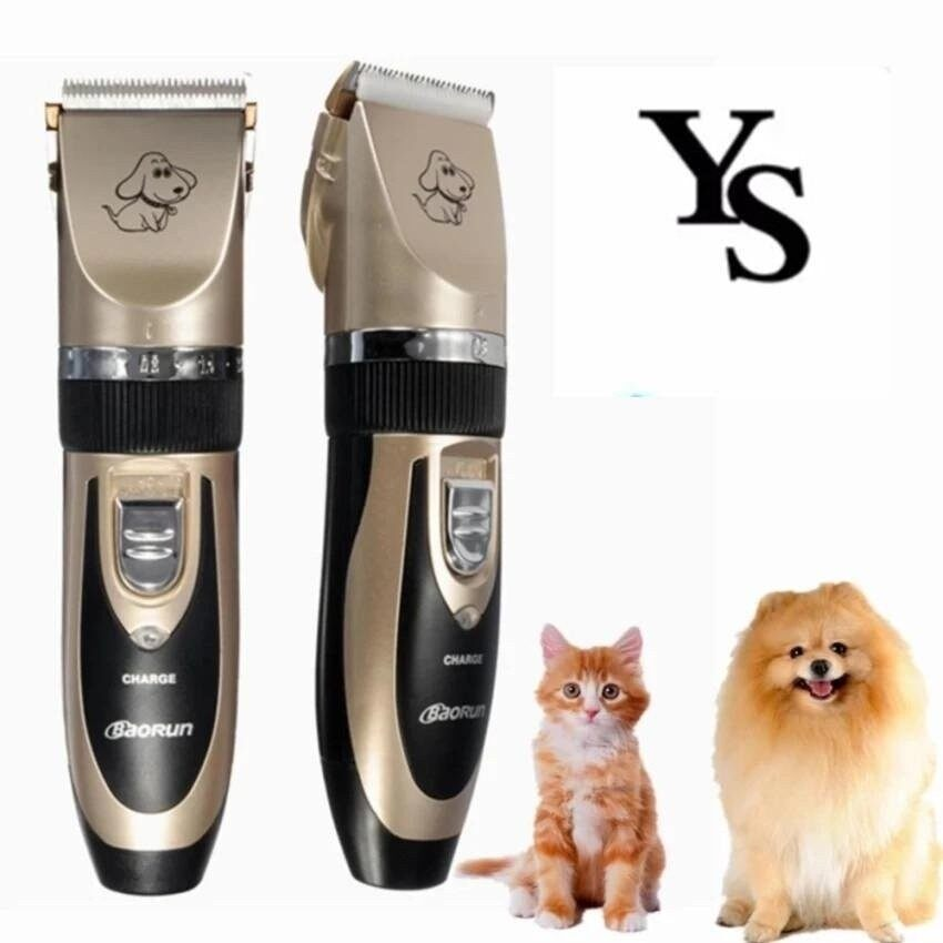 Professional Grooming Kit Animal Pet Cat Dog Hair TrimmerClipperShaver Set (Malaysia Compliance Adapter Plug) - intl