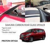 Broz Proton Ertiga Samurai Carbon Rear Top Windscreen OEM Glass Spoiler (4.5cm)
